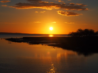 sunset | by evablanchardcouet