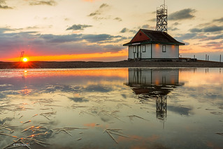 Sunrise over the Leuty Lifeguard Station | by Phil Marion (176 million views - THANKS)