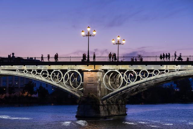 Puente de Isabel II. SEVILLA. España