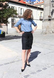Lisette for Butterick B6598 skirt
