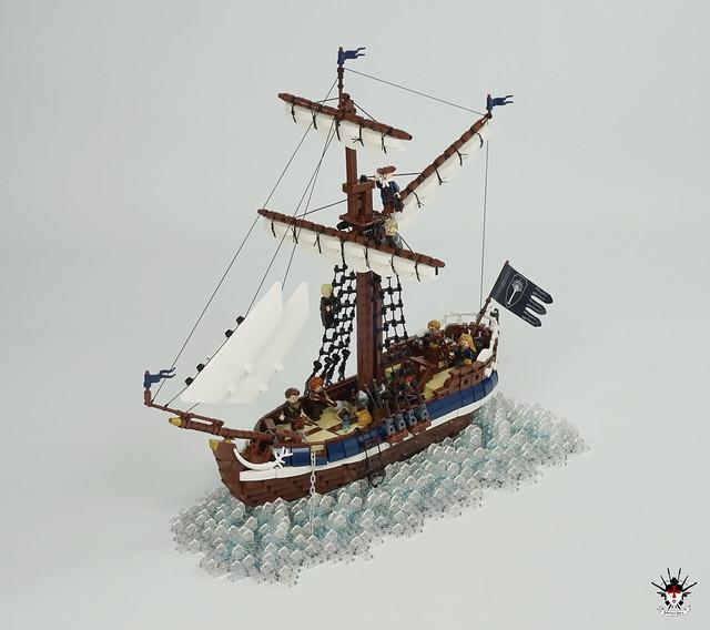 LEGO Numenorean sailship Eämbar