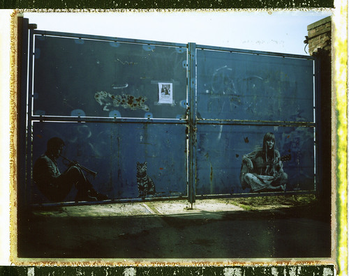 Chet Baker and Joni Mitchell by Jef Aerosol (Marquette Lez Lille) | by @necDOT