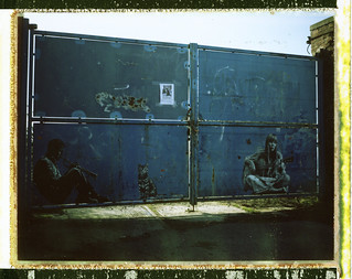 Chet Baker and Joni Mitchell by Jef Aerosol (Marquette Lez Lille)
