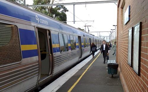 Glenhuntly station, March 2009