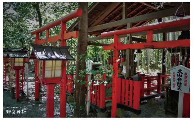 嵐山野宮神社-8