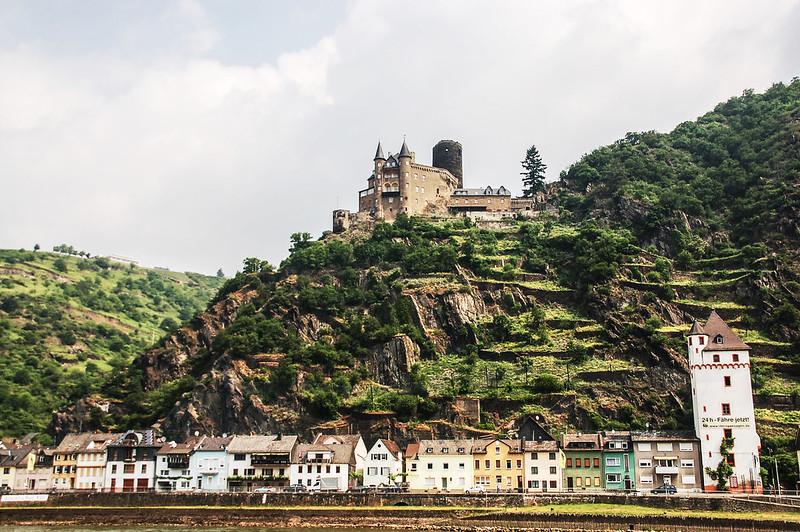 貓堡(Burg Katz) & St. Goarshausen小鎮 3