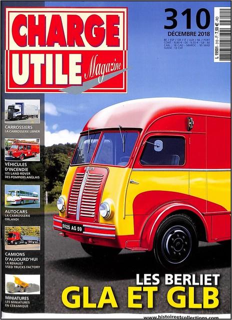Charge Utile Magazine n° 310.