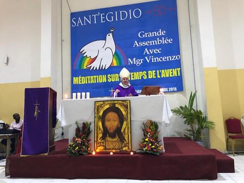 Visita alla Comunità di Sant'Egidio in Costa d'Avorio   by monspaglia