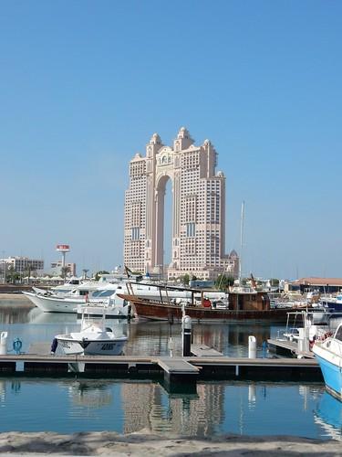 Abu Dhabi - kitschy appatementen Fiarmont Residences