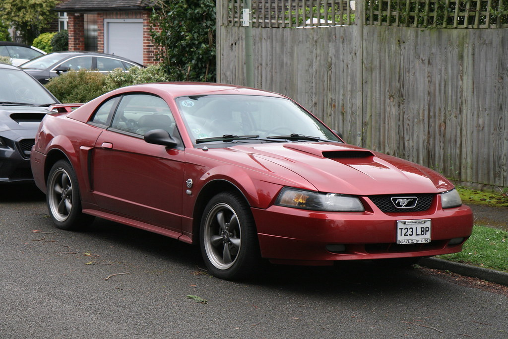 2004 ford mustang 40th anniversary edition