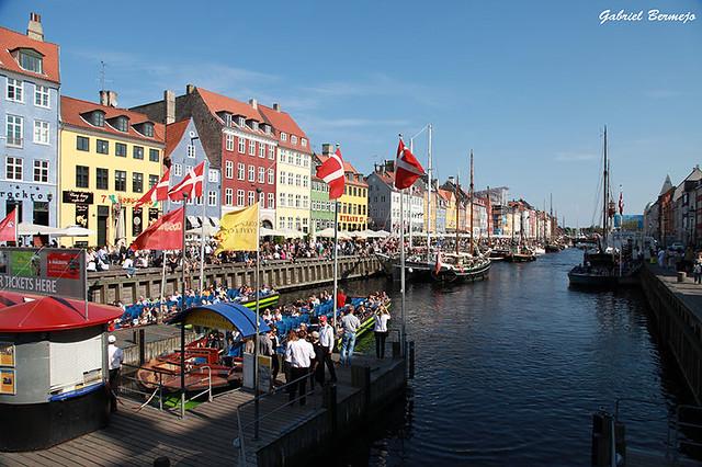 Canal de Nyhavn - Copenhague