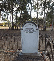 Samuel Paine, St Stephen's Cemetery, Willunga