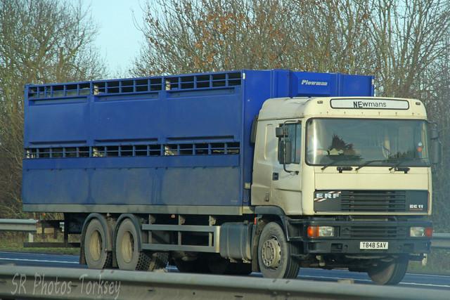 ERF EC11 Livestock Transporter Newmans T848 SAV