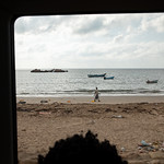 IOM Djibouti - Beach and boat in the Red Sea