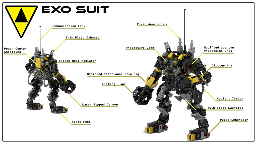 Blacktron Exo-Suit