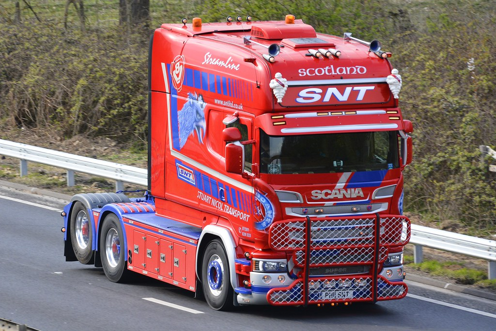 PH11 SNT | SNT SCANIA LONGLINE PH11 SNT 2ND VIEW, A63 SOUTH