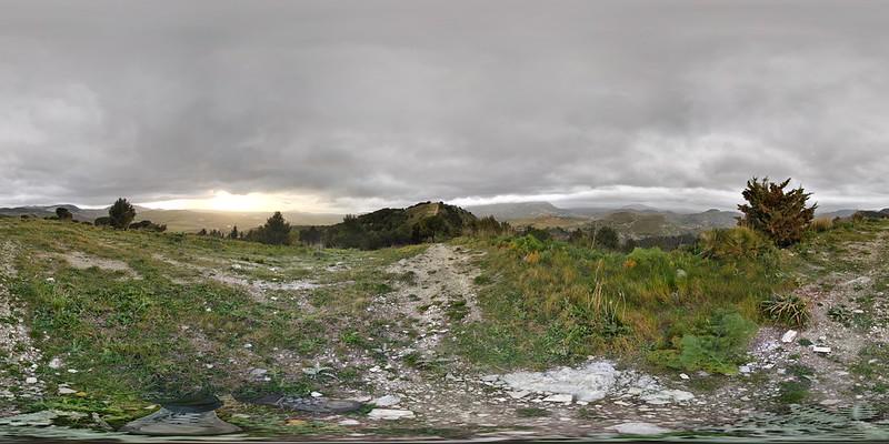 Panoramablick auf Segesta