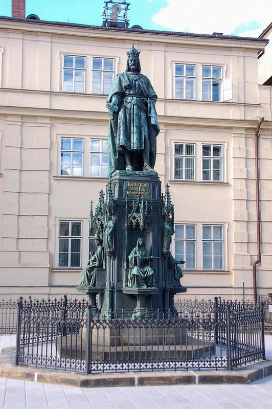 查理四世(Charles IV)雕像 1