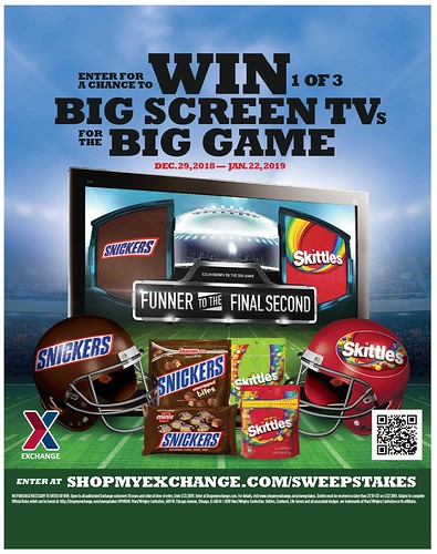 January 2019 Mars/Wrigley Big Game Sweepstakes | by Army & Air Force Exchange Service PAO