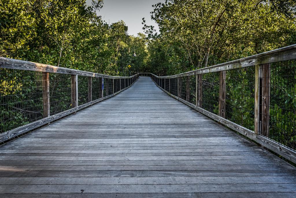 Naples, Florida - Wooden Bridge
