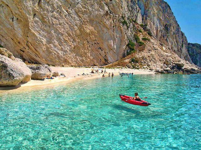 Aspri Ammos Beach, Othoni Island
