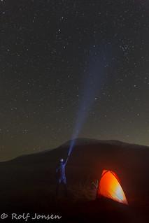 Beinn Achaladair and the stars