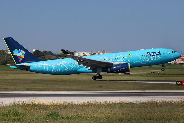 PR-AIU Azul Linhas Aéreas Brasileiras A330 at Lisbon Airport (LIS/LPPT)