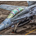 F:A18D Hornet- by O.C. de With Aviation photography