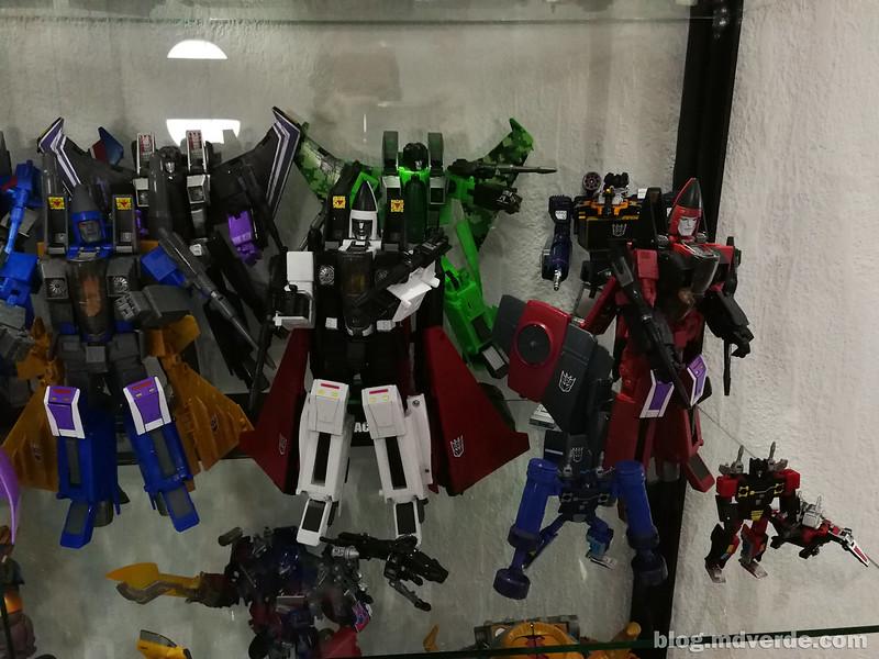 Mi colección de Transformers Masterpiece Decepticons G1 2/2