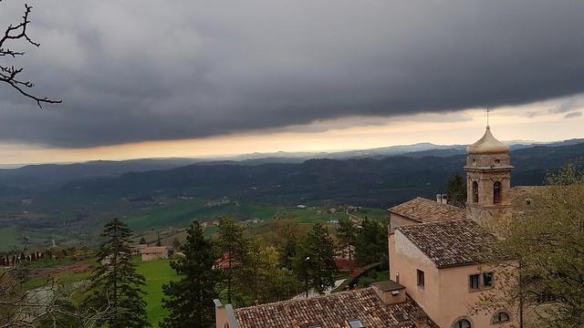 Monte San Martino. Macerata.