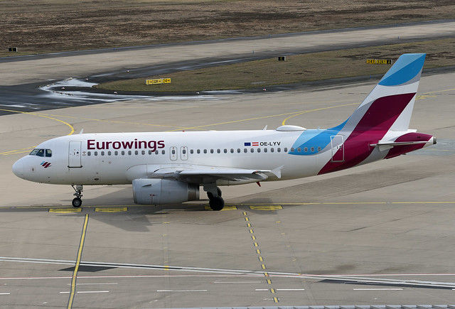 Eurowings Europe Airbus A319-132 OE-LYV