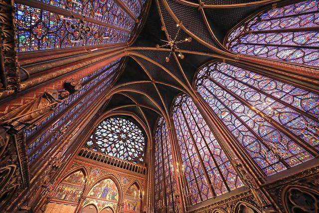 Sainte-Chapelle,Paris,France