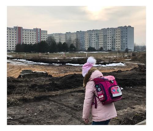 riga suburbs latvia post soviet landscape
