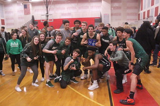 Camden Catholic celebrates its SJ Non-Public A boys basketball championship. | by tedtee308