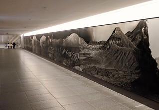 Houston underground  tunnels -  wall art