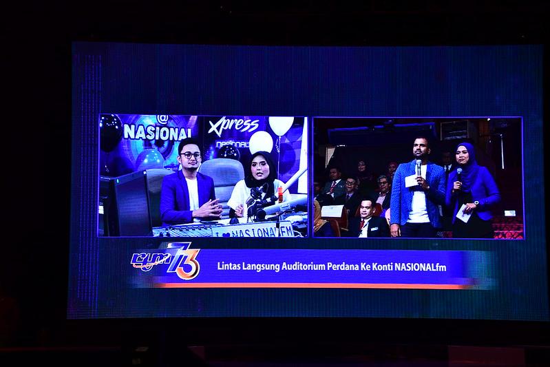 Lintas Langsung Dari Konti Nasionalfm Ke Auditorium Perdana, Angkasapuri