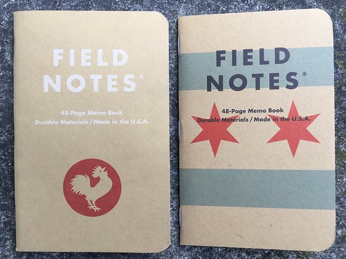 Field Notes Old to New Part 21
