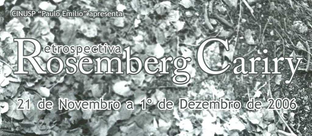 Retrospectiva Rosemberg Cariry