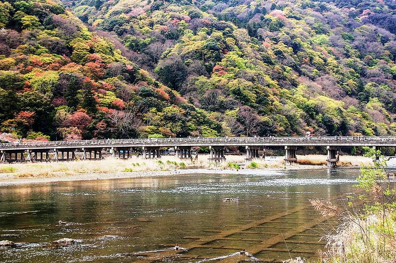 嵐山渡月橋 1