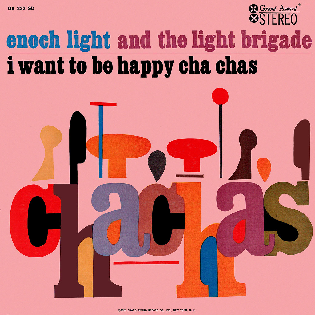 Enoch Light - I Want to Be Happy Cha Chas