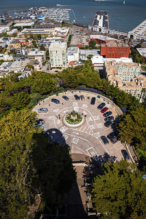 Looking Down on Pioneer Park From Coit Tower | by nocureforgravity