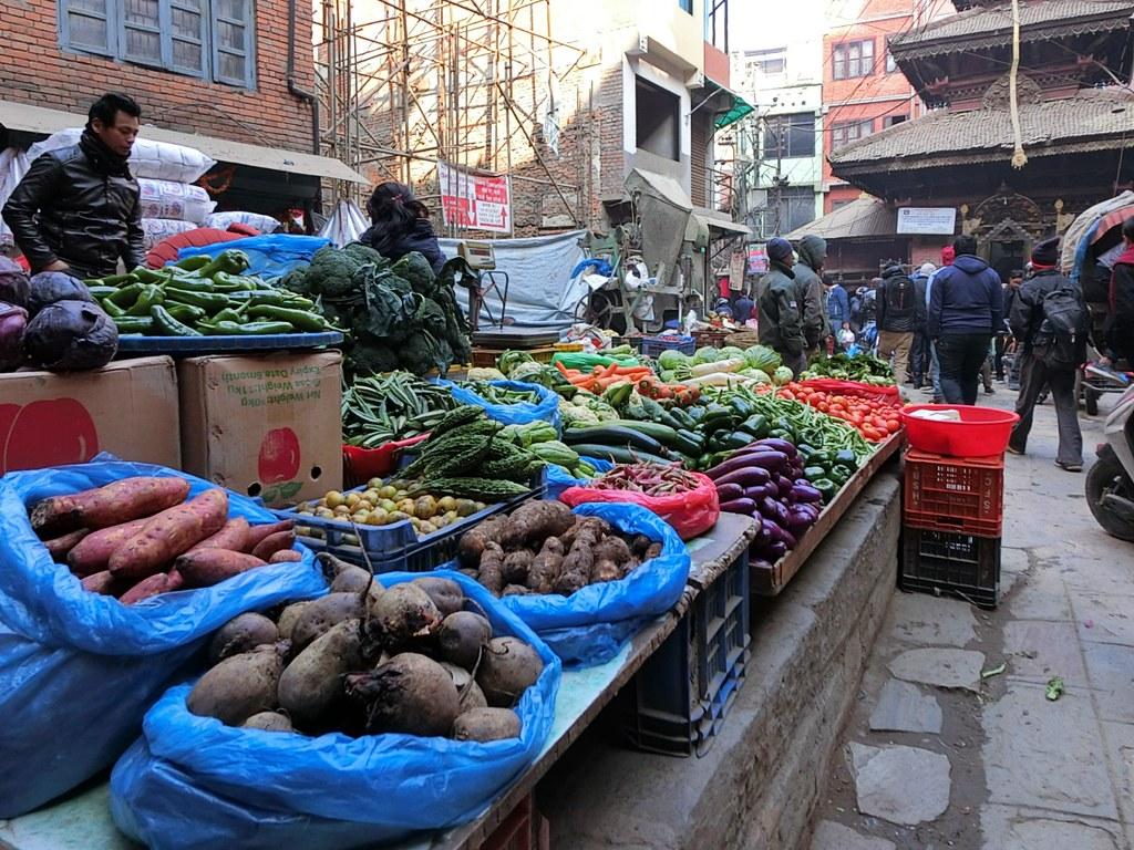 Vegetable in market