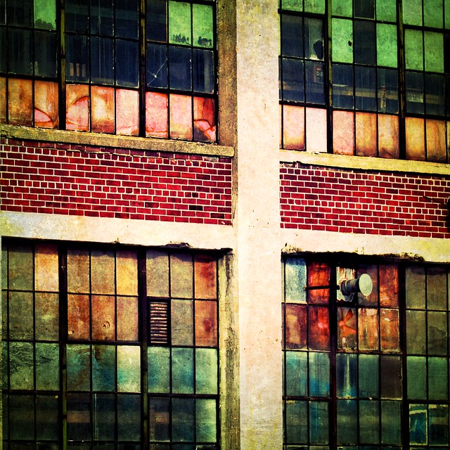 Industrial Stained Glass