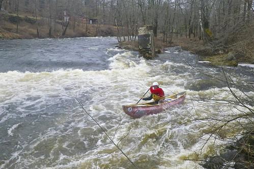 Running he broken Dam - Dave