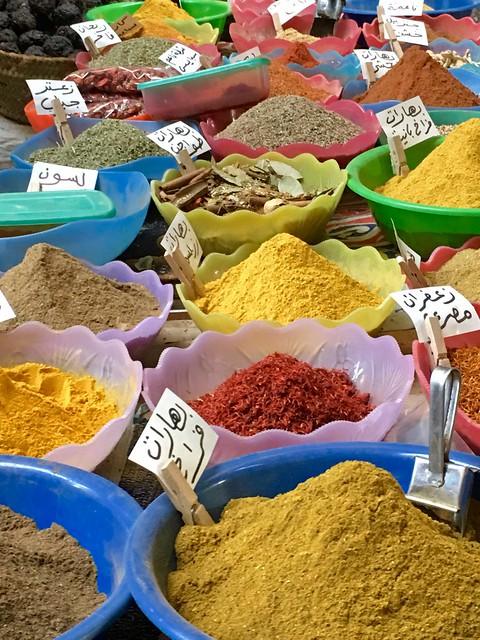 Egyptian spices, Luxor, Egypt