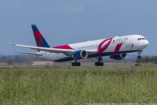 N845MH 767-432 DL 245 FCO-JFK