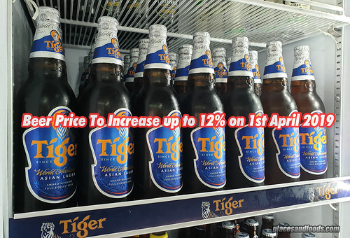 beer price increase | by placesandfoods.com