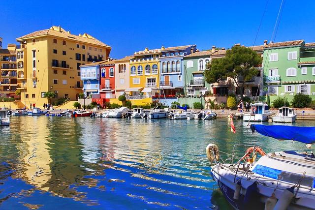 Port Saplaya, Little Venice. Valencia, Spain