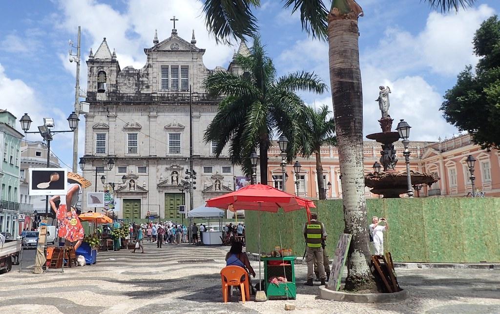 Salvador{Bahia}- Terreiro de Jesus Plaza
