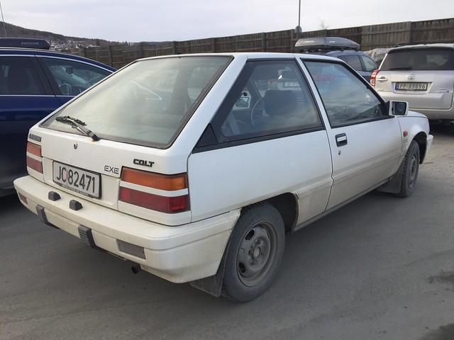 1987 Mitsubishi Colt GL